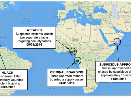 ASKET Ltd Weekly Maritime Security, Piracy News and Update Number 31, 14th January 2016
