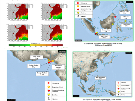 ONI Weekly Piracy Report - Horn of Africa/ Gulf of Guinea/ SE Asia