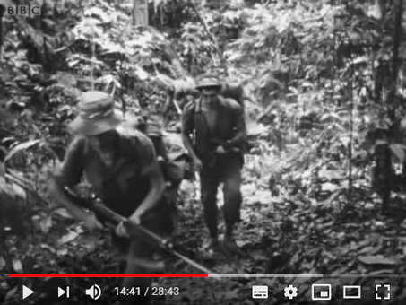 Royal Marines in Borneo - 1962 - 1966