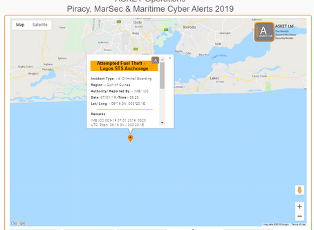 IMB ICC - Attempted Fuel Theft - Lagos STS Anchorage @IMB_Piracy  #piracy #marsec