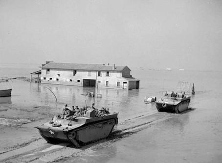 Major Anders Lassen VC - SBS - Lake Commachio 8 - 9th April 1945
