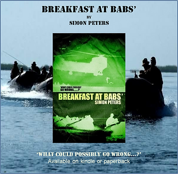 Breakfast at babs-book-539 ASRM-Royal Marines-commando-simon biggs-simon peters-Iraq