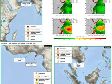 Office ONI Weekly Piracy Report - Horn of Africa/ Gulf of Guinea/ SE Asia