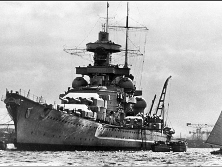 Sinking of the Scharnhorst boxing day 1943