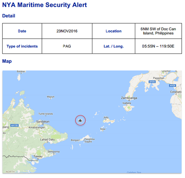 Pirate Action Group (PAG) Operating Sighted, Doc Island, Philippines #marsec #piracy
