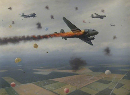David Samuel Anthony Lord VC, DFC Victoria Cross 19th September 1944 - Battle of Arnhem