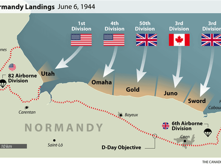 Operation Overlord - D Day 6th June 1944