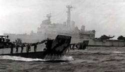 Battle for the Falklands - Landing at San Carlos - 21 May 1982