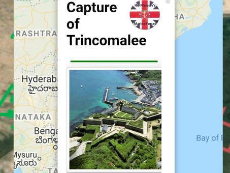 Capture of Fort  Trincomalee