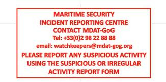 New FR/UK Centre – MDAT-GoG Contact Number