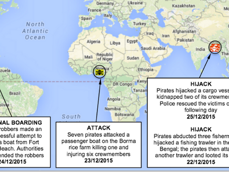 Weekly Maritime Security and Piracy News and Update Number 29, 31st December 2015