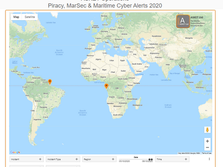 ASKET Piracy & Maritime Security Alerts - Last 7 Days