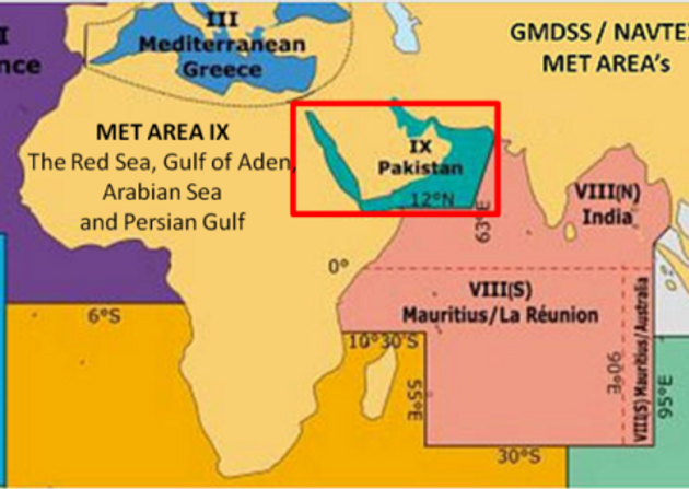 Weather indian ocean meteorological bulletin met area ix the red weather indian ocean meteorological bulletin met area ix the red sea gulf of aden arabian sea and persian gulf north of area viii gumiabroncs Images