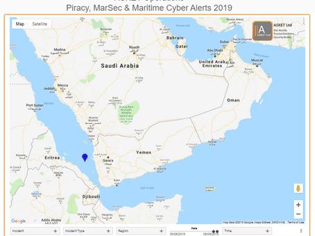 MSCI Advisory - 2019-005A-Southern Red Sea-Threat of Vessel Attack #marsec #terrorism