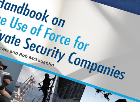 Use of Force Handbook for Private Security Companies - Oceans Beyond Piracy