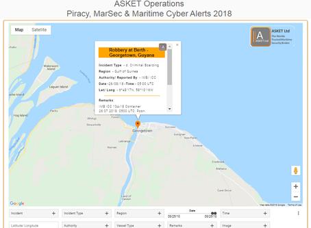 Theft at Berth, George Town, Guyana #marsec #piracy @IMB_Piracy