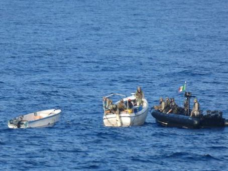 #Pirate PAG Apprehended in Somali Basin  #piracy #marsec @EUNAVFOR @IMB_Piracy @IMOHQ #ukmto #shippi