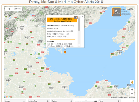 IMB ICC - Fuel Stolen via Hose from Bulker - Caofeidian Anchorage, China @IMB_Piracy  #piracy #marse