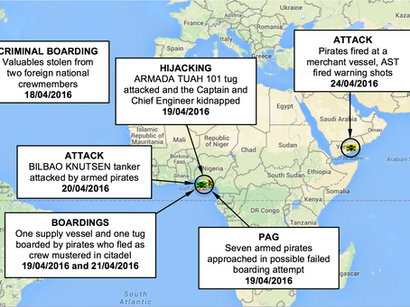 ASKET Ltd Weekly Maritime Security and Piracy News and Update Number 46, 28th April 2016
