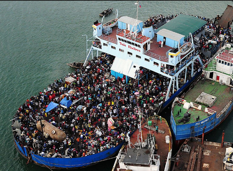 Neptune Ferry (1993) - 900 Souls lost #maritimehistory