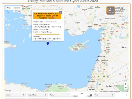 U.S. MARITIME ADVISORY 2020-015 - Risks Due to Regional Tensions