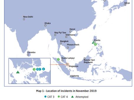 ReCAAP ISC 3rd Quarter Report - January - September 2020 #piracy #marsec @ReCAAPISC
