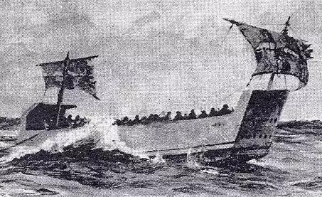 Sea Borne Escape from Crete in a Damaged Landing Craft
