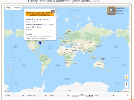 U.S. MARITIME ADVISORY 2020-006 -  Novel Coronavirus Outbreak