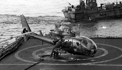 Loss of 2 Gazelle and 3 crew from 3 BAS - San Carlos Water
