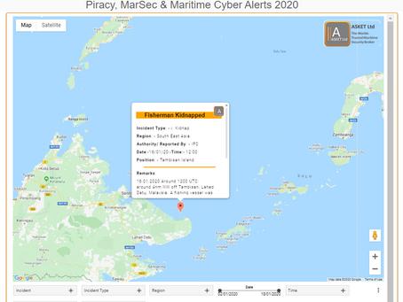 Fishermen abducted off Tambisan - Sulu Sea #piracy #marsec