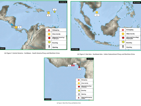 Office of Naval Intelligence ONI - Worldwide Threat to Shipping (WTS) Report #marsec #piracy #shipp