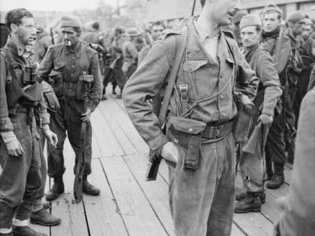 Lord Lovat - No 4 Commando and US Rangers at Dieppe