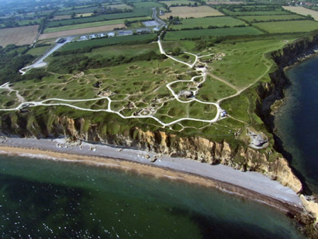 Supporting the Rangers at Pointe Du Hoc