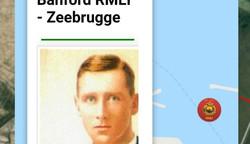 Captain Edward Banford RMLI - Victoria Cross - Zeebrugge