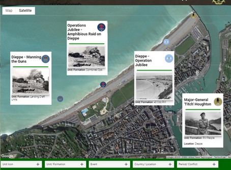 Operation Jubilee - Amphibious Raid on Dieppe - 19th August 1942