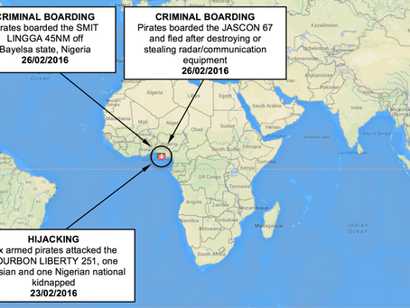 ASKET Maritime Security Update 36, 3rd March 2016
