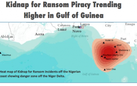 OBP is concerned about changes in Pirate Activity in the Gulf of Guinea