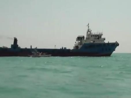 Iran Seizes Vessel off of Farsi Island for fuel smuggling #MarSec