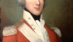 Captain of Marines Charles William Adair - Killed at the Battle of Trafalgar - 21st October 1805