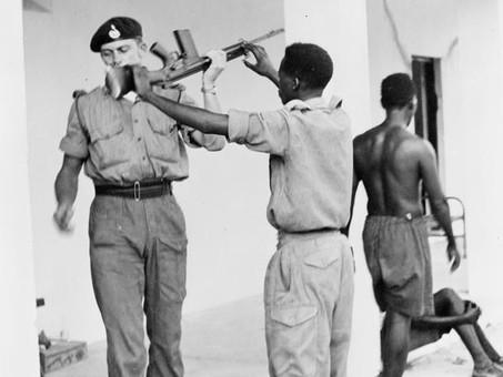 45 Commando During Tanganyika Revolt January 1964