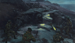 Battle for the Falklands - The Battle for Two Sisters - 45 Cdo RM - 11/12 June 1982