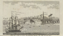 The Capture of Fort Louis in Senegal