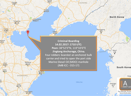 IMB ICC - Criminal Boarding China - #marsec #maritime #security