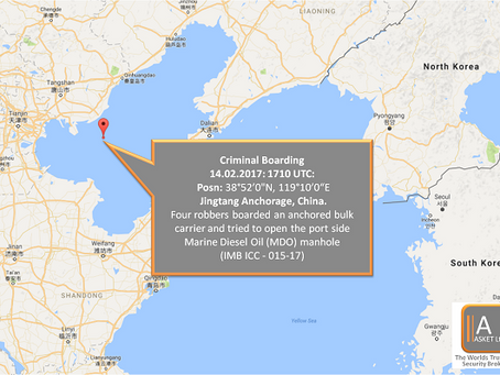 IMB ICC - Criminal Boarding China - #marsec #maritime #security