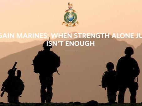 Project Regain - improving mental health awareness of serving Marines