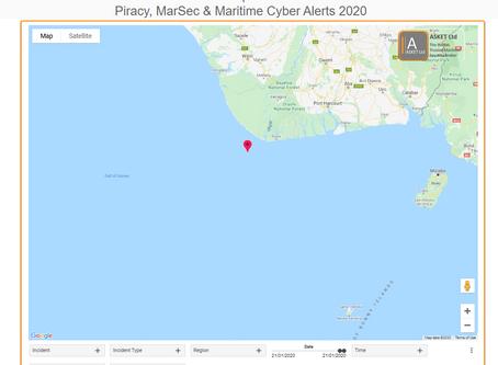 MDAT GoG - Attempted Boarding off Brass Gulf of Guinea #piracy