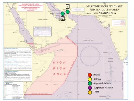Maritime Intelligence Report - MAST #piracy #marsec
