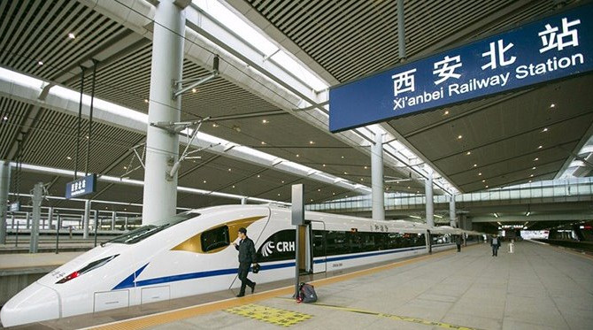 The Orient Express: Travel from Xi'an to Chengdu by Train