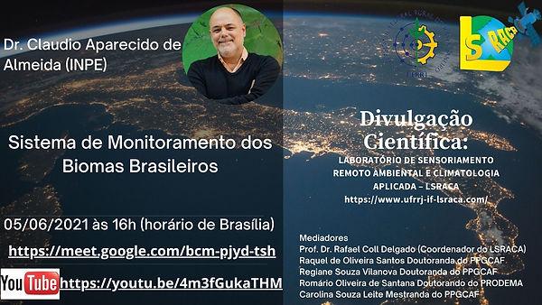 PALESTRA DR. CLAUDIO APARECIDO DE ALMEID