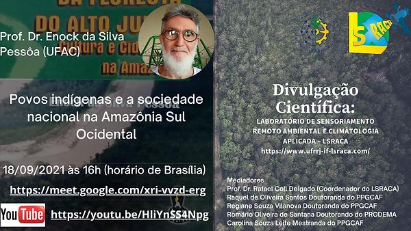 PALESTRA PROF. DR. ENOCK DA SILVA PESSOA
